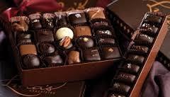 شکلات تلخ پذیرایی خارجی