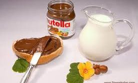 کرم شکلات صبحانه فندقی خارجی نوتلا