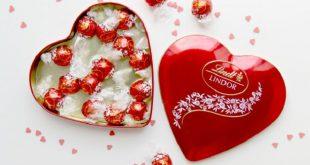 شکلات قلبی ولنتاین
