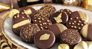 شکلات روکش طلایی