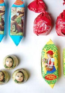 قیمت شکلات روسی عمده