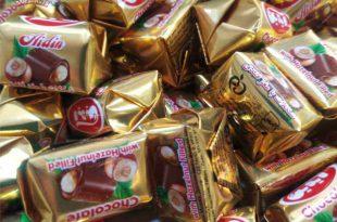 قیمت شکلات تافی کره ای آیدین