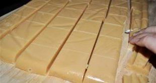 صادرات شکلات تافی شیری فله