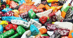 صادرات انواع شکلات سنگی و اسمارتیز ایرانی