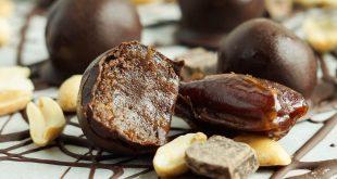 صادرات انواع شکلات خرمایی به ترکیه
